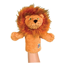 Eric Carle Lion Puppet