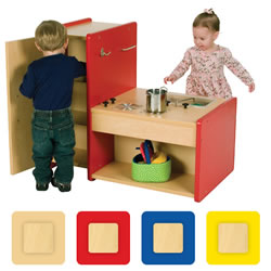 Nature Color 4-In-1 Toddler Kitchen