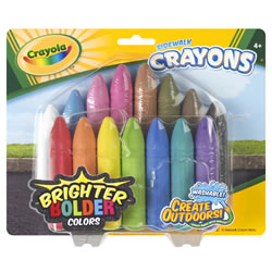Crayola® 15-Pack Outdoor Sidewalk Crayons (Single Box)