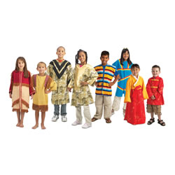Multicultural Dramatic Dress-up Collection (Set of 8)