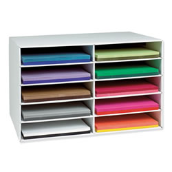"Construction Paper Storage for 12""x18"" Paper"