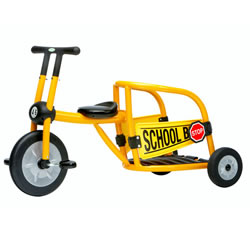 Yellow School Bus Trike