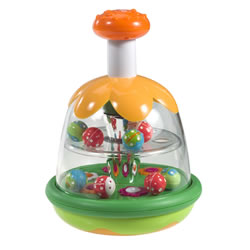 Infant Push and Play Butterfly Spinner