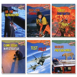 Cool Adventure Careers (Set of 6)