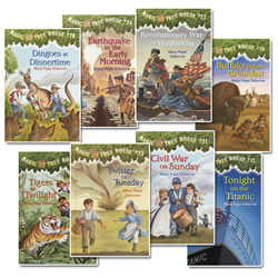 Magic Tree House Set 3 (17-24) (Set of 8 books)