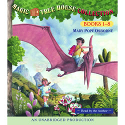 Magic Tree House Read-along CD (1-8)