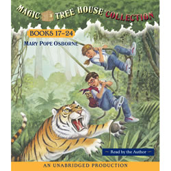 Magic Tree House Read-along CD (17-24)