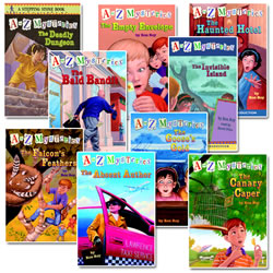 A to Z Mysteries - Set 1 Books A through I