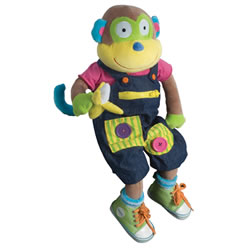 Learn to Dress Monkey
