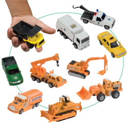 City Vehicle Set (10 Pieces)