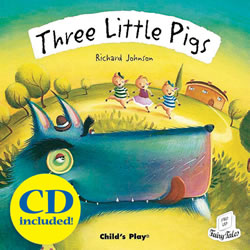 Three Little Pigs - Paperback & CD