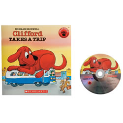 Clifford Takes a Trip - Paperback & CD