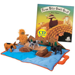 Three Billy Goats Gruff Story Set