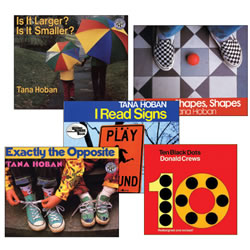 Learning Shapes and Number Book Set (Set of 5)