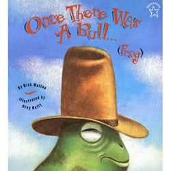 Once There Was A Bull...(Frog) - Paperback