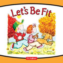 Let's Be Fit - Hardback