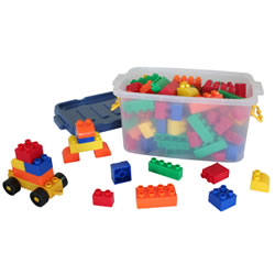Basic Brick Blocks (100 Pieces)