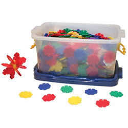 Flower Linking Discs (600 Pieces)