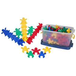 Interlocking People (120 Pieces)