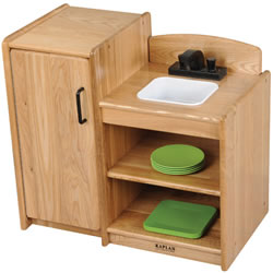 Ash Toddler 2-In-1 Kitchen Combo (Sink & Refrigerator)