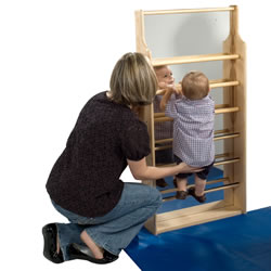 Toddler Mirror Climber