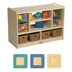 K System® Toddler Mixed Storage with Plexiglass Back