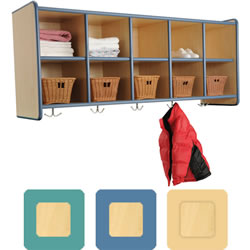 K System® 10 Cubbie Wall Locker