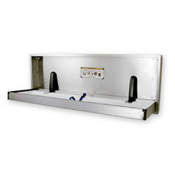 Stainless Steel Diaper Changer (Wall Mounted)