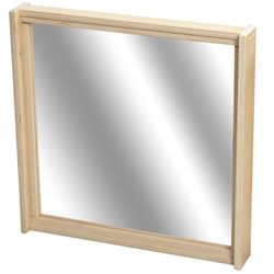 Shape-A-Space™ Mirror Panel with Frame