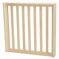 Shape-A-Space™ Slat Wooden Panel with Frame