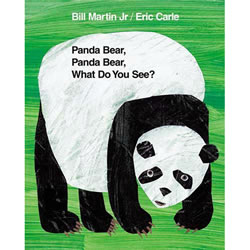 Panda Bear, Panda Bear What Do You See? - Board Book
