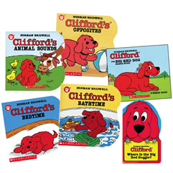 Clifford Board Book Set (Set of 6)