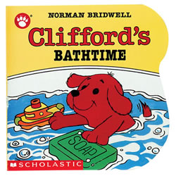 Clifford's Bathtime - Board Book