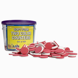 Foam Counters Jar (200 Pieces)