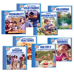 Math In Our World - Level 3 (Set of 8)
