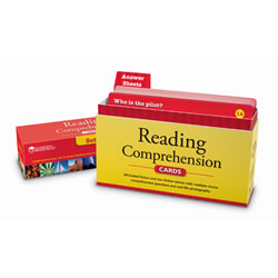 Reading Comprehension Cards, Grade 3