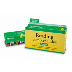 Reading Comprehension Cards, Grade 4