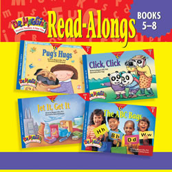 Dr. Maggie's Phonics Readers Read-Along CD for Books 5-8