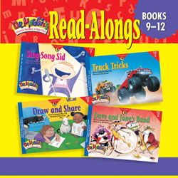 Dr. Maggie's Phonics Readers Read-Along CD for Books 9-12