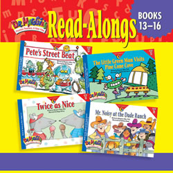 Dr. Maggie's Phonics Readers Read-Along CD for Books 13-16