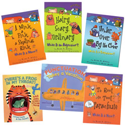 Vocabulary Classroom Books (set of 6)