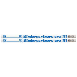 Kindergartners are #1 Pencils (box of 12)