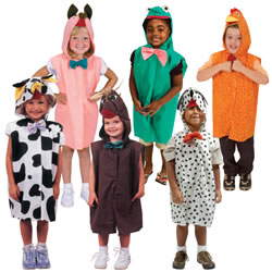 Animal Dress-Ups (Set of 6)