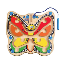 Color Flutter Butterfly Magnetic Maze