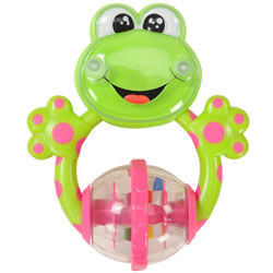 Froggie Teether Rattle