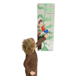 Jack and the Beanstalk Mirror with Growth Chart