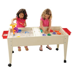 Double Tray Sand and Water Table (Sand)