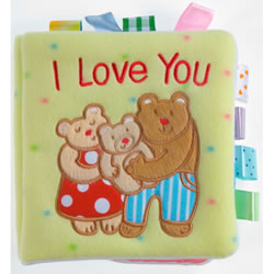 TAGGIES™ I Love You (Cloth Book)