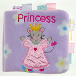 TAGGIES™ Princess (Cloth Book)