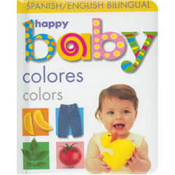 Soft to Touch Colors (Bilingual) - Board Book